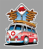 MDF Magnet & Thermo VW Bus