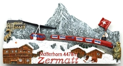 Zermatt Winter Panorama