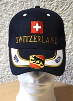 Switzerland Cap Bern marineblau